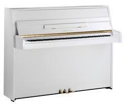 Broadway BU-109  Silent Piano in polished white