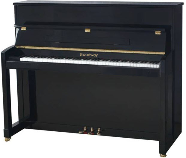 Broadway BU-115 Silent Upright Piano