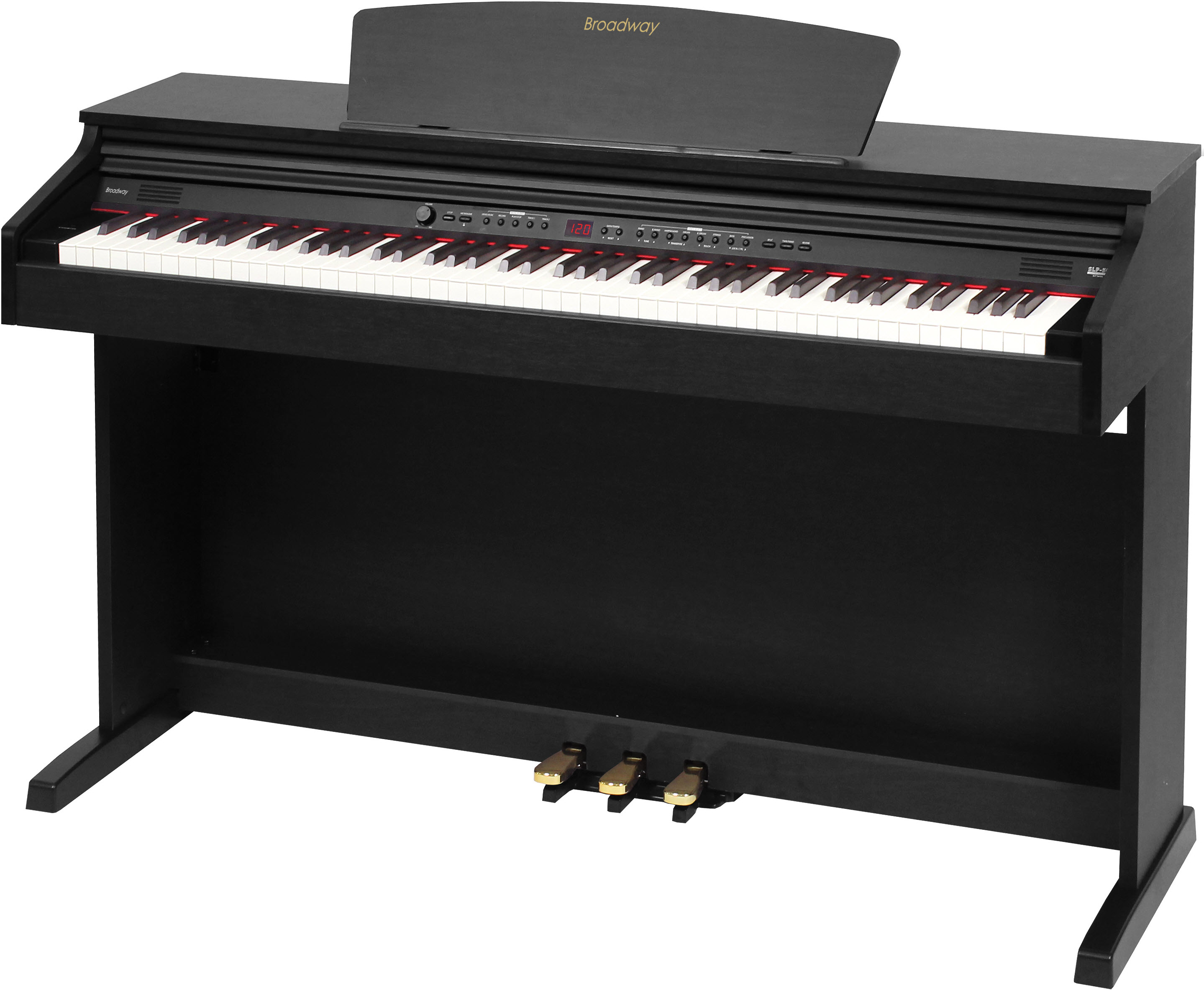 Broadway EZ-102 Black Satin
